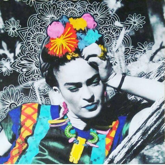 Frida fotója újra gondolva